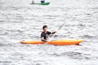 Тренировки новичков в Лосево на верхнем озере.