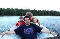 Майские РОДЕО-СБОРЫ в Финляндии, 2011год. День отдыха. В семейном кругу!