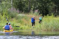Однодневный тур. Вуокса-Вирта. Высаживаемся в р-не бывшего финского селения Вуоксела, где ещё сохранилась старая финская кирха.