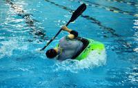 Открытый Чемпионат СПб по фристайлу на гладкой воде. Квалификация 3я попытка в кат. К1-М. Андрей делает Helix