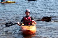 Школа каякинга в Лосево. Начало тренировки на верхнем озере.