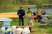 Плановый поход по Ладоге, 10-12 июня 2017.В точке начала маршрута.