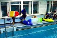 Открытый Чемпионат СПб по фристайлу на гладкой воде.  Начало финала в кат. К1-М.