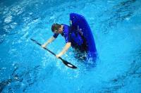 Открытый Чемпионат СПб по фристайлу на гладкой воде.  Финал в кат. К1-М.