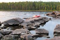 Осенняя родео-сессия в Финляндии(Лиекса). Воды мало.