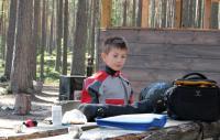 Август. Фристайл-сессия в Финляндии(Лиекса). Перед тренировкой.