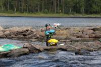 Учебные сборы, Финляндия(Лиекса). Запуск вертолётика.