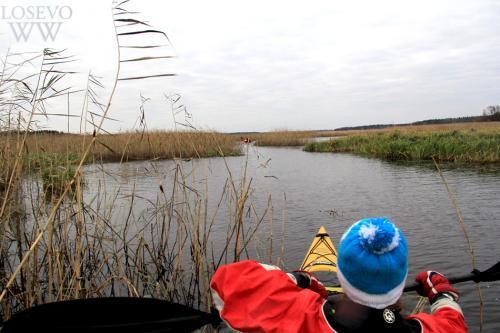 На фото: Осенние туры по малым рекам Карельского перешейка