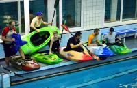 Открытый Чемпионат СПб по фристайлу на гладкой воде.  Начало заездов в Команде