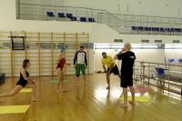 Школа русский сёрфинг. Тренировка в зале