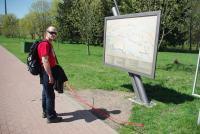 г. Брест, Бресткая крепость, возле плана Бресткой крепости