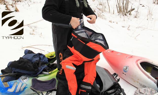 "Сухие костюмы(drysuit) Multisport 4 от ""TYPHOON"""