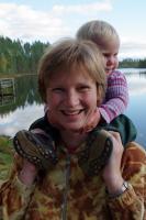 Родео-Сборы в Финляндии(Лиекса). Сентябрь 2011. Мама и дочь(младшая)
