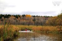 Осенние туры по малым рекам Карельского перешейка. Маршрут № 1. По реке Лунка