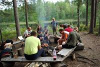 Август. Родео-сборы в Финляндии( Лиекса ), 2011г. Среда - день отдыха.