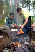Август. Родео-сборы в Финляндии( Лиекса ), 2011г. Отдых