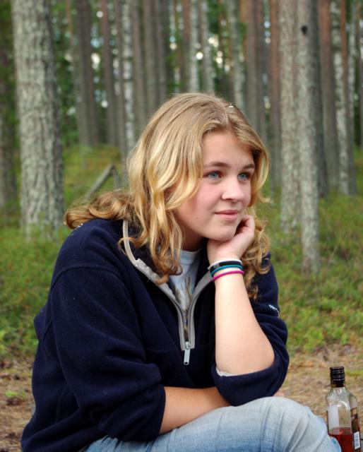 Август. Родео-сборы в Финляндии( Лиекса ), 2011г. Среда день отдыха.