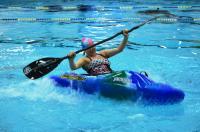 Открытый Чемпионат СПБ по фристайлу на гладкой воде в бассейнах 2014. 1я попытка в кат. К1-Ж
