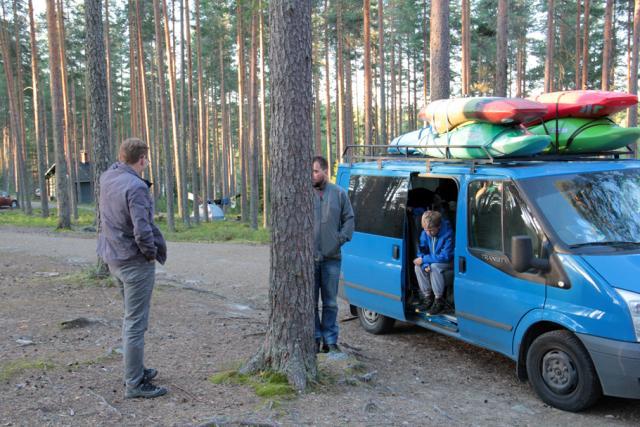 Август. Фристайл-сессия в Финляндии(Лиекса). Раннее утро. Финляндия. Кемпинг Neitikoski. На фото:
