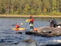 Осенняя родео-сессия в Финляндии(Лиекса)