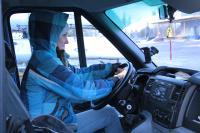 Поездка за каяками в Финляндию. Погрузка каяков закончена - пора в дорогу. У нас новый водитель))))