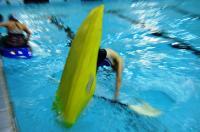 Открытый Чемпионат СПБ по фристайлу на гладкой воде в бассейнах 2014. 2я попытка в кат. К1-Ж