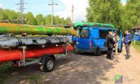 Плановый поход по Ладоге, 10-12 июня 2017. Утро на базе рафтинга Кивиниеми(п. Лосево). Готовимся выехать на Ладогу