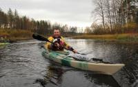 Осенние выезды на малые реки Карельского перешейка. По р. Полянка
