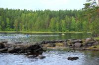 Учебные сборы, Финляндия(Лиекса). С вечерней тренировки.