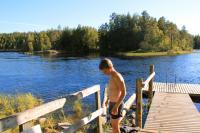 Август. Фристайл-сессия в Финляндии(Лиекса). В р-не кемнпинга.