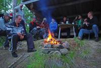 Норвегия. Ночевка на рыбацкой стоянке