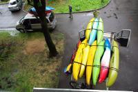 Лодки погружены! Пора в дорогу!!!