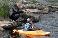 Июньские родео-сборы в Финляндии(Лиекса). Тренировки детской группы.