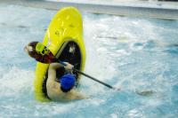 Заочные соревнования по фристайлу на гладкой воде. Зимняя сессия. Евгений Смирнов - I место (К1М)