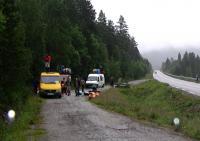 Норвегия, р. Setninga. На месте старта.