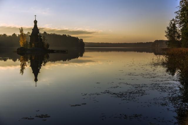 Васильевские протоки. Вечер