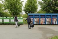 Попытка выкинуть мусор