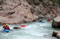 Осенний Кавказ 2013, учебно-тренировочный выезд. Очередной заплыв. Здесь нужно отлавливать быстро, т.к. дальше Горка