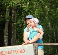 Июньские родео-сборы, Финляндия(Лиекса). Группа поддержки Сергея Захарова