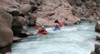 Осенний Кавказ 2013, учебно-тренировочный выезд. Гранитный каньон, окончание верхней секции.