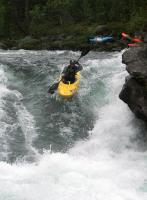 Ежегодный выезд в Норвегию, 2012г. Очаровательная речка Lora(было много воды)