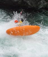"""Ежегодный выезд в Норвегию, 2012г. Очаровательная речка Lora(было много воды). И снова летающий """"Стомпер"""""""