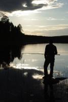 Август. Родео-сборы в Финляндии( Лиекса ), 2011г. Среда день отдыха. На вечерней зорьке.