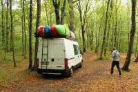 Осенний Кавказ 2013, учебно-тренировочный выезд. Приехали к месту стоянки.