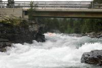 Выезд в Норвегию, 2012г.  речка Lora. В этом месте, под мостом, мы регулярно зажигаем.
