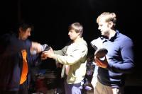 Осенний Кавказ 2013, учебно-тренировочный выезд. Вечерком лечение отстрелов, а завтра - работа над ошибками!)))