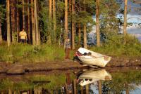 Август. Родео-сборы в Финляндии( Лиекса ), 2011г. На отдыхе.