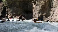 Осенний Кавказ 2013, учебно-тренировочный выезд. Гранитный каньон нижняя секция.