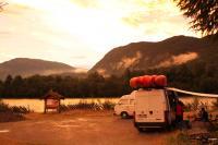 Выезд в Норвегию 2013года. Вечер на р. Sjoa