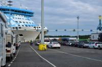 Выезд в Норвегию 2013года. В порту Турку